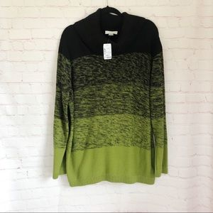 [CJ Banks] NWT cowl neck sweater size 3X plus24/26